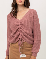 Mauve Chill Out Sweater