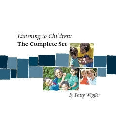 Listening to Children Booklet Set + Bonus Material - Digital Files