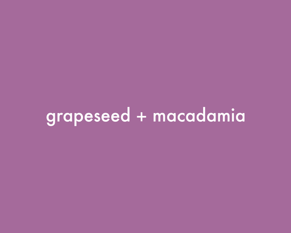 Grapeseed + Macadamia | Coffee Scrub