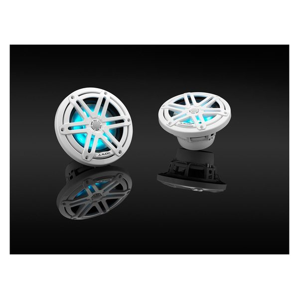 JL Audio M3 650x 6.5 Sport Grille Speakers with RGB LED Lighting