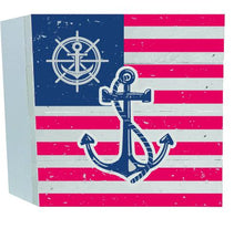 Load image into Gallery viewer, Flag Anchor Wood Box