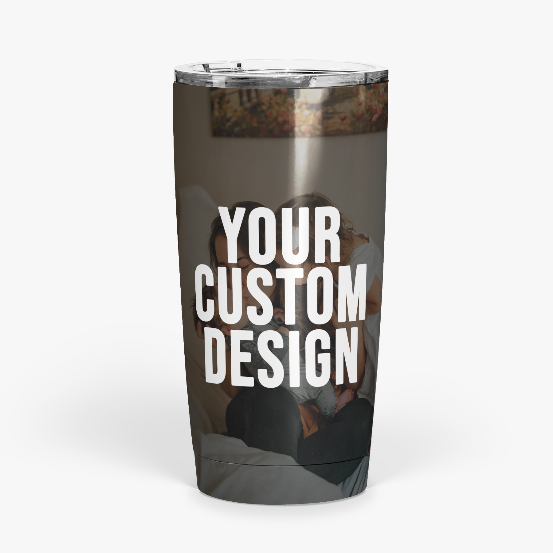 Custom Insulated Tumbler (Suction Lid)