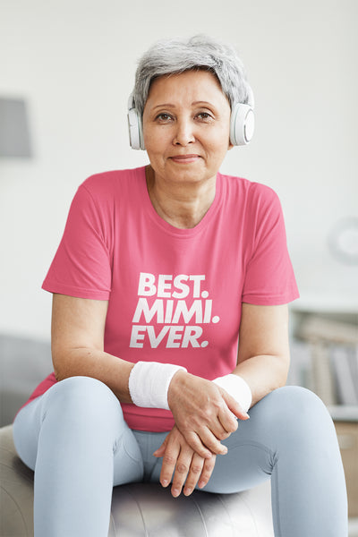 Best Mimi Ever T-Shirt - Mother's Day Gift Idea - Cute Mimi Shirt