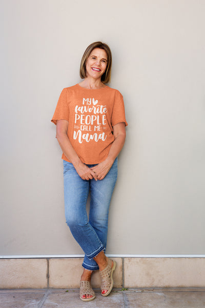 My Favorite People Call Me Nana T-Shirt - Perfect Tee for Nana