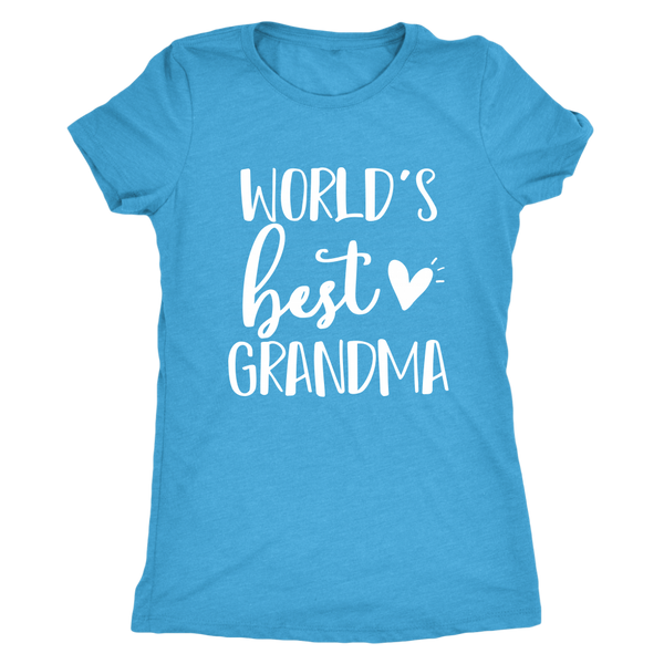 Worlds Best Grandma T-Shirt - Perfect Tee for Grandma