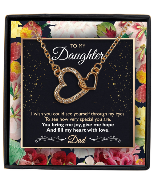 Dad Daughter Necklace
