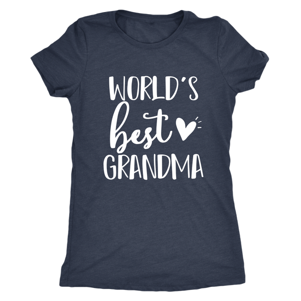 worlds best grandma shirt