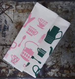 Vintage Tea Party Tea towel