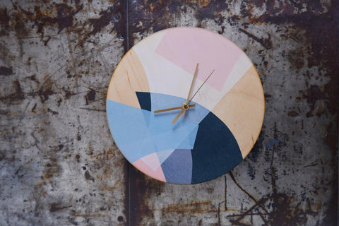 Birch Plywood clock