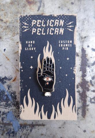 Hand of Glory Pin Badge