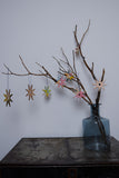 Ply wood snow flake christmas decorations
