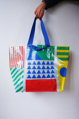 ,The Memphis 100' Medium recycled Tote bag