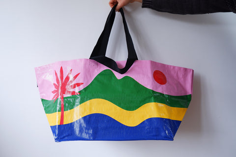 'The Rio' Large Recycled Tote bag