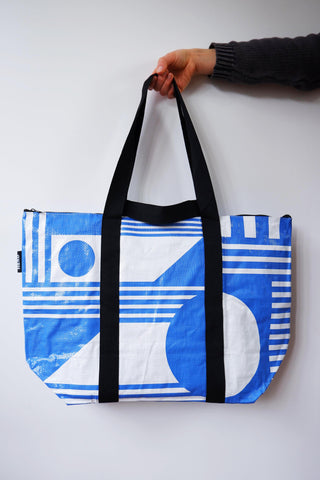 'The Santorini, Medium recycled tote bag