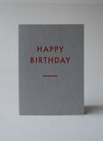 Mabel & Co - Futura Greetings Cards - Red & Grey - Box of 6