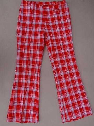 1970's Unisex Panhandle Slim Polyester Pants