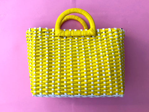 Canary Basket Purse