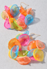 Abstract Pastel Floral Hoops