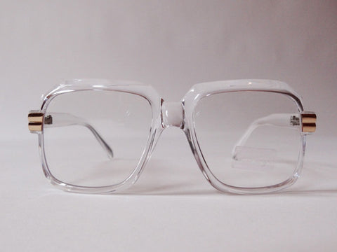 80's Street Style Clear Frame Glasses