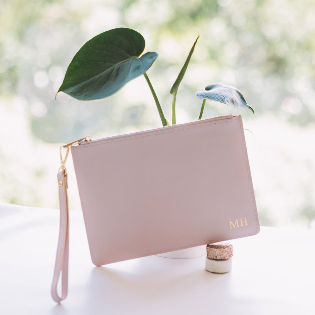 Signature Pouch in Peony