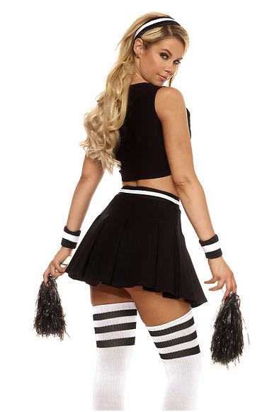 Daddy's Girl Sexy Cheerleader Costume - Rumor Apparel