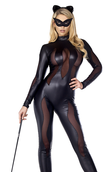 Luscious Lynx Sexy Black Cat Costume Rumor Apparel