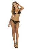 Braided Triangle Bikini - Rumor Apparel