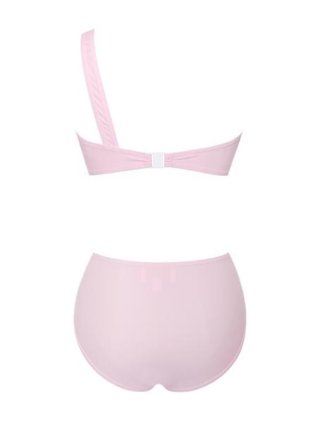 Pink Wrap Two Piece Swimsuit