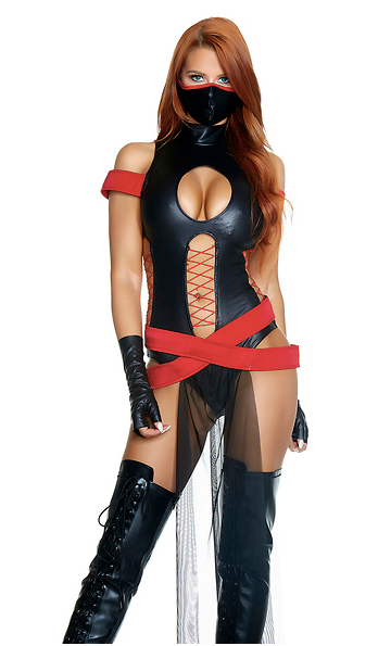 Slay All Day Sexy Ninja Costume