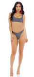 Titanium Manzanillo Bikini Set - Rumor Apparel