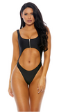 Black One Piece Swimsuit - Rumor Apparel