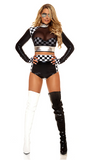 Fast Lane Racer Costume for Women - Rumor Apparel