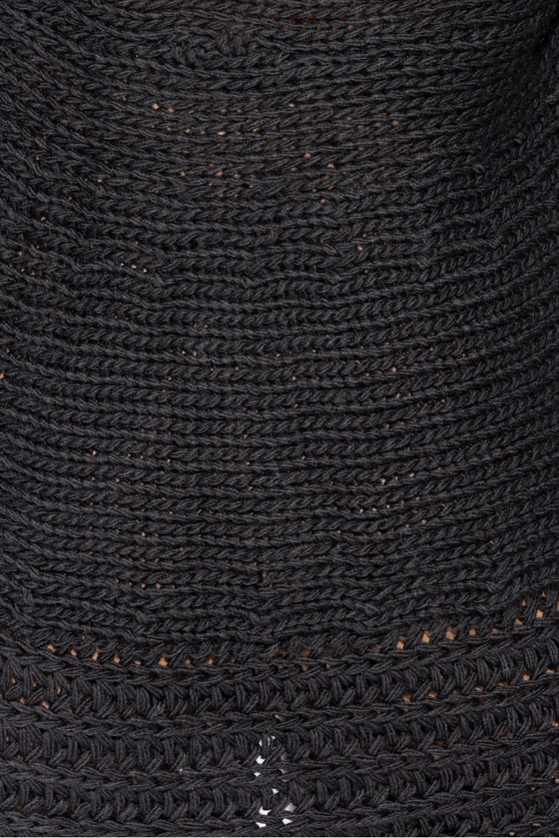 Black Chunky Cable Knit Shawl Collar Cardigan