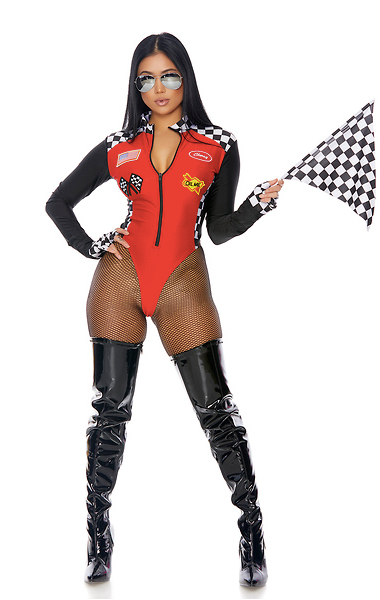 Forplay Wanna Race? Sexy Racer Costume