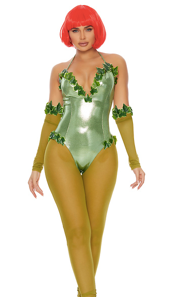 Forplay Toxic Sexy Comic Book Villain Costume
