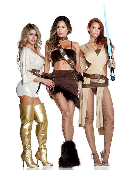 Captivating Co-Pilot Sexy Movie Character Costume - Rumor Apparel