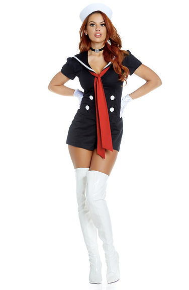 Kiss & Sail Sexy Sailor Costume - Rumor Apparel