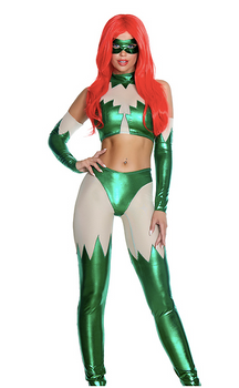 Fatal Attraction Sexy Comic Book Villain Costume - Rumor Apparel