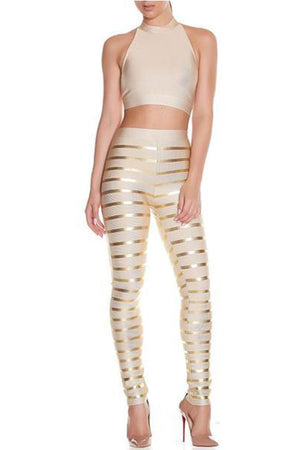 Bellini Two Piece - Nude - Rumor Apparel