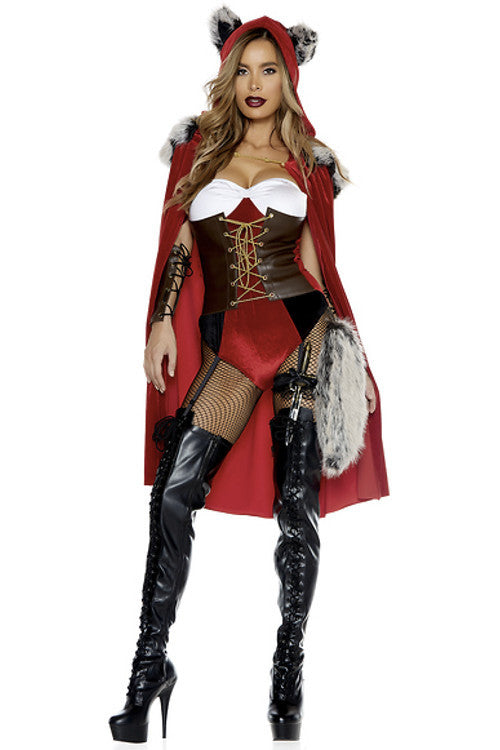 Red Haute Storybook Character Costume - Rumor Apparel