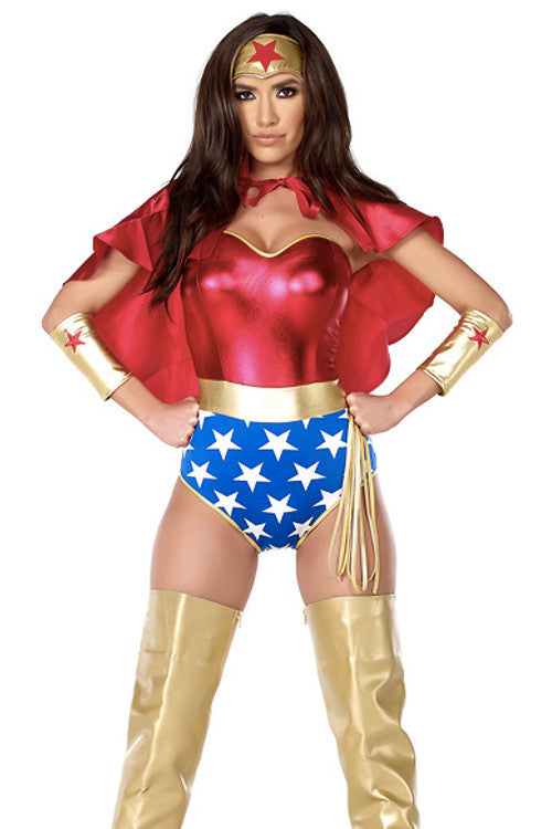 Super Seductress Sexy Superhero Costume - Rumor Apparel