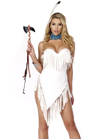 Fabulous Feathers Sexy Native American Costume - Rumor Apparel
