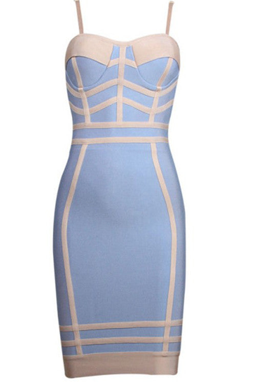 Sexy Strappy Bandage Dress - Rumor Apparel