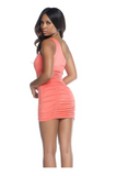 One Shoulder Mini Dress - Rumor Apparel