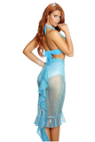 Make A Splash Sexy Mermaid Costume - Turquoise - Rumor Apparel