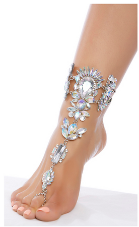 Rhinestone Foot Jewels