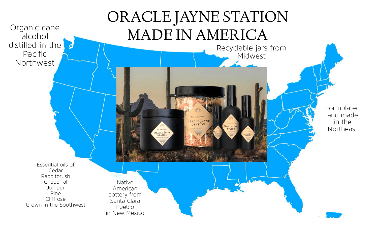 Oracle Jayne Station - Made in America