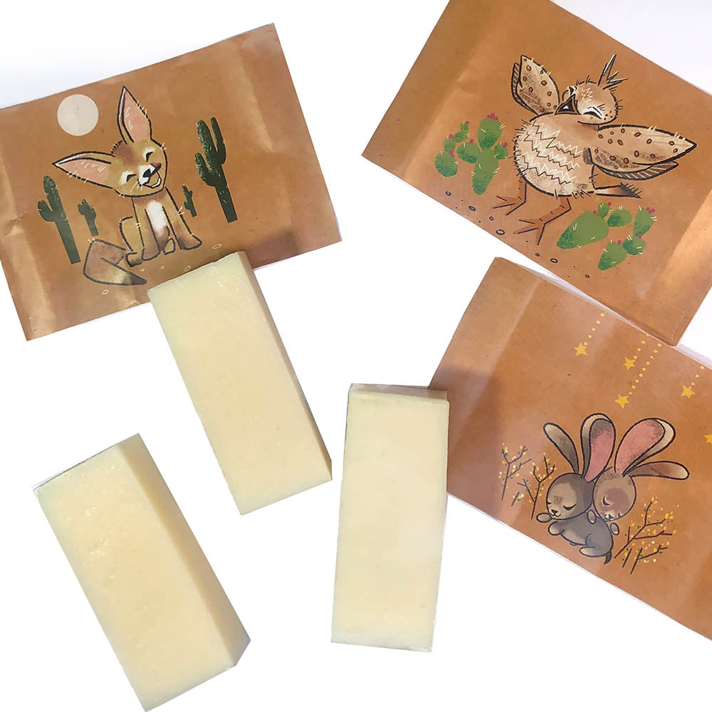 Little Buddies! Mini Soap Trio by Michael Clifton + Oracle Jayne Station