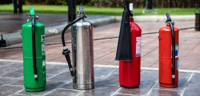Four Types of Fire Extinguishers