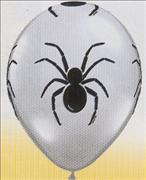 Spider Print Balloons & Stick Pack